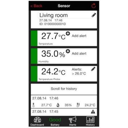 Метеостанция для смартфона TFA WeatherHub (31400502)