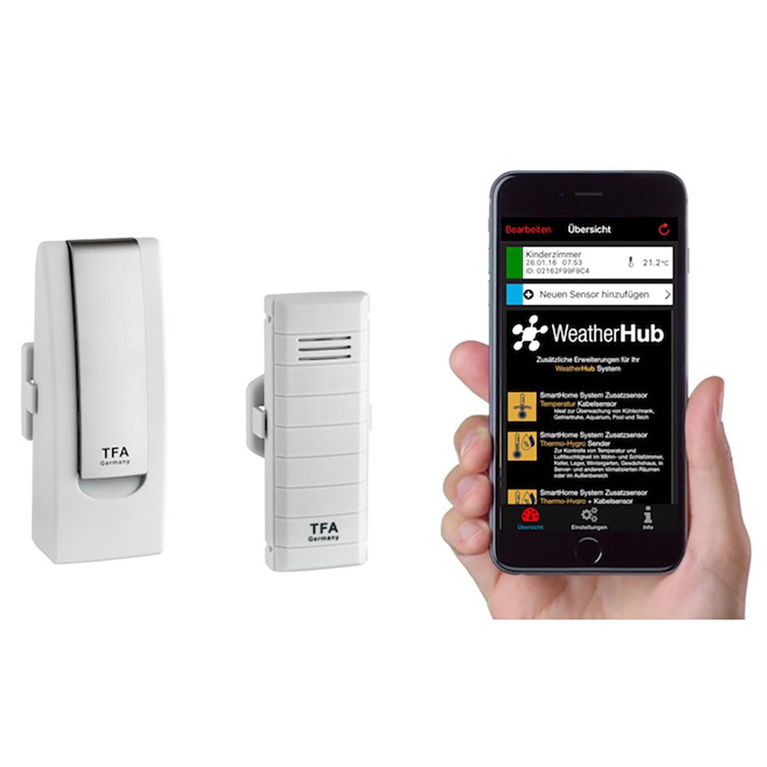 Метеостанция для смартфона TFA WeatherHub Set1 (31400102)