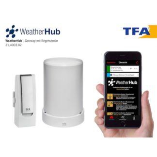 Smart станция TFA WeatherHub с датчиком уровня осадков (31400302)