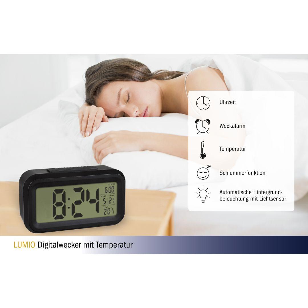 """Настольные часы TFA """"Lumio"""" (60201801)"""