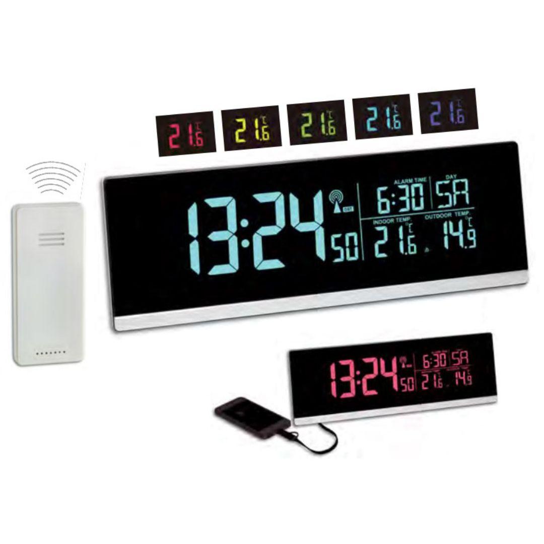 "Настольные часы TFA ""Multi-Color"" (60254801)"