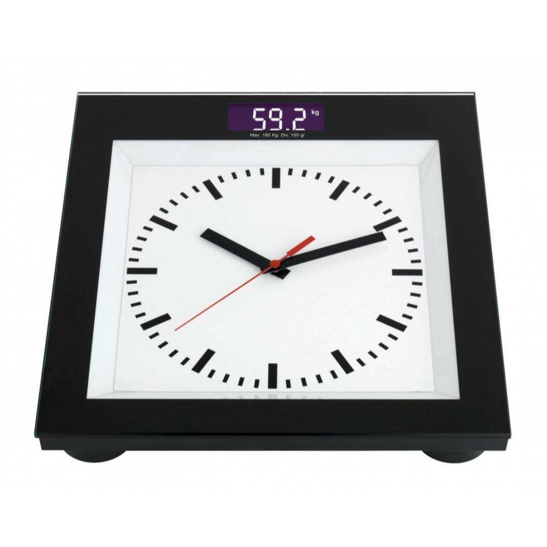 Весы напольные TFA с часами (60300001)