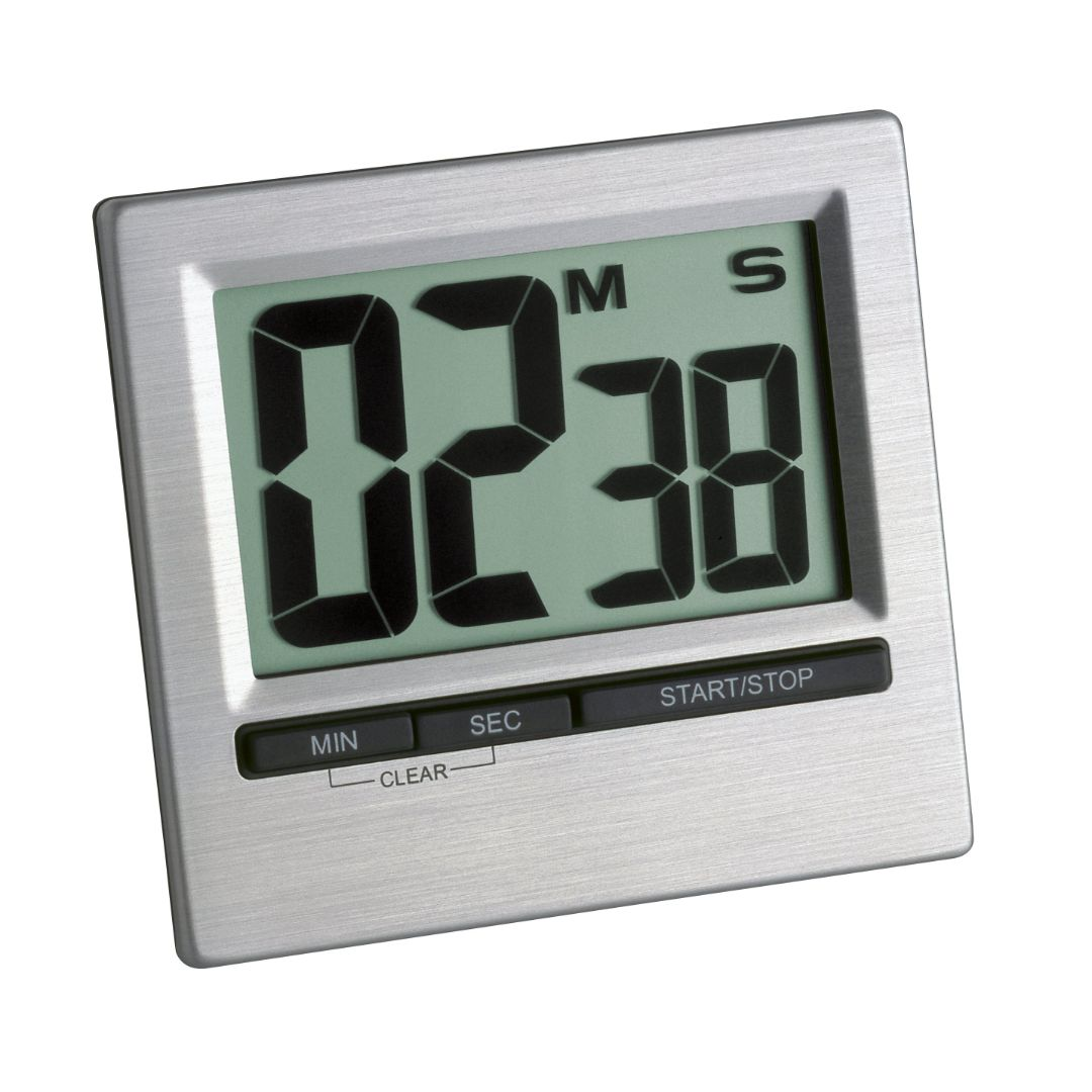 Кухонный цифровой таймер TFA с секундомером (38201354)