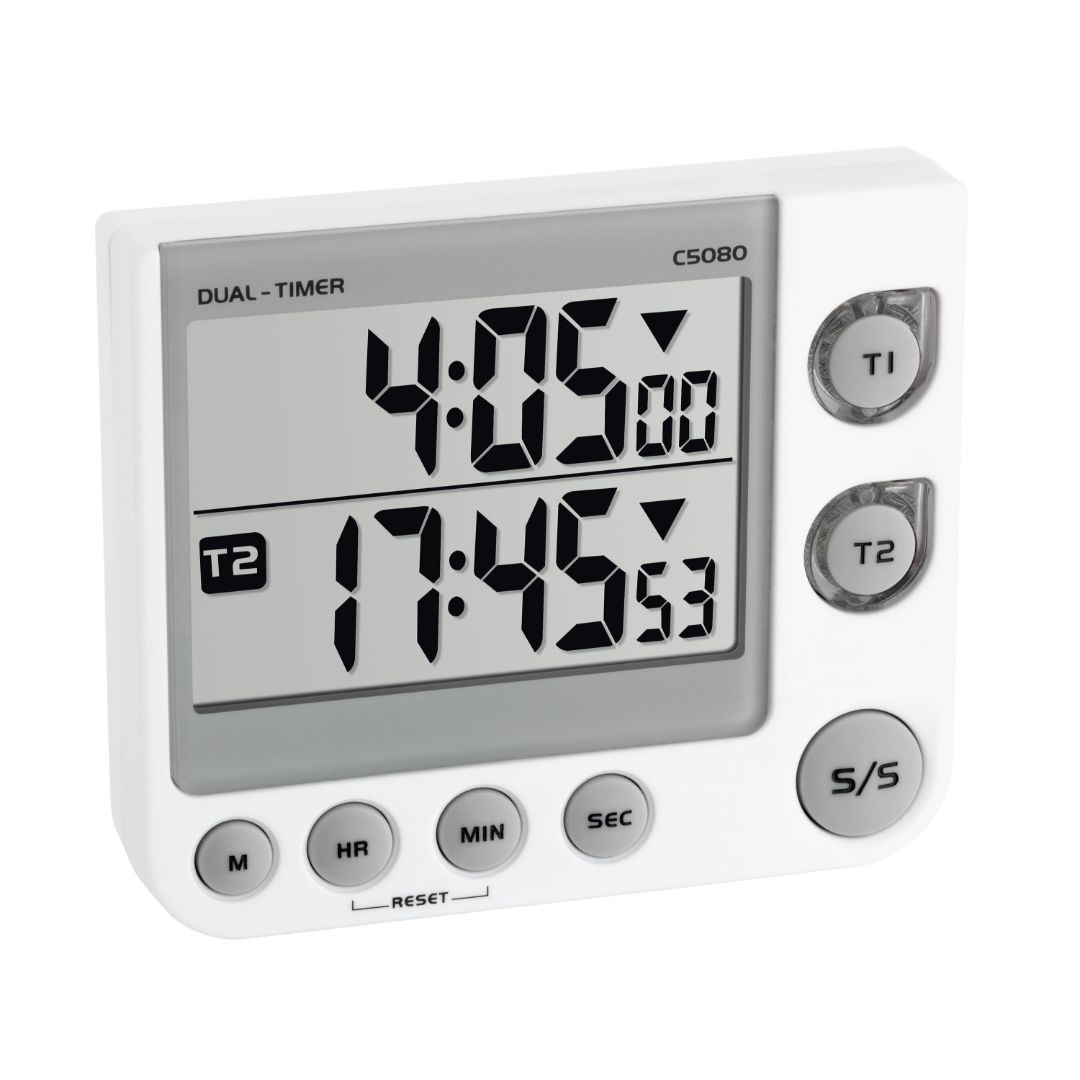 Кухонный цифровой таймер TFA с секундомером (382025)