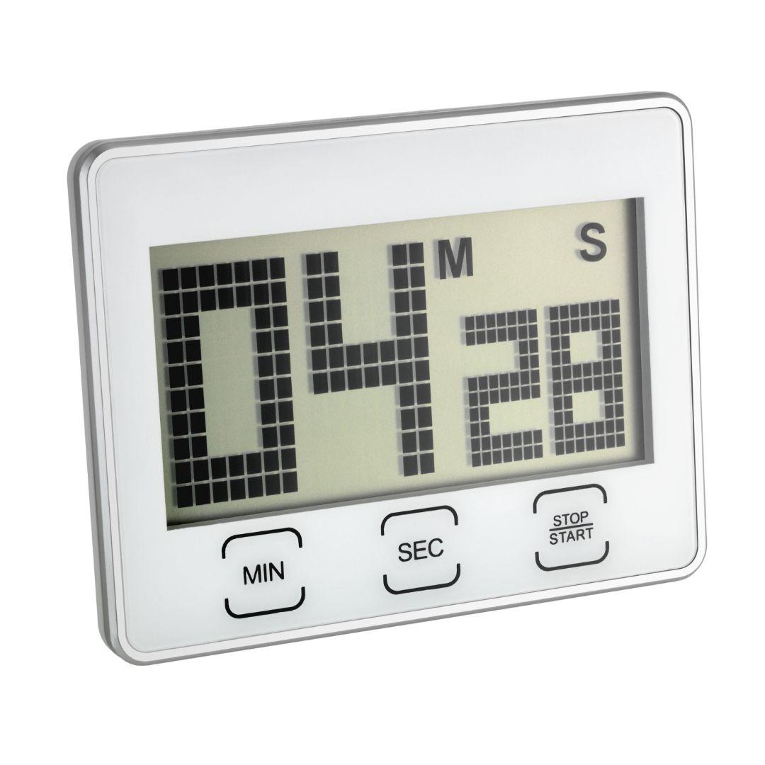 Кухонный цифровой таймер TFA с секундомером (382027)