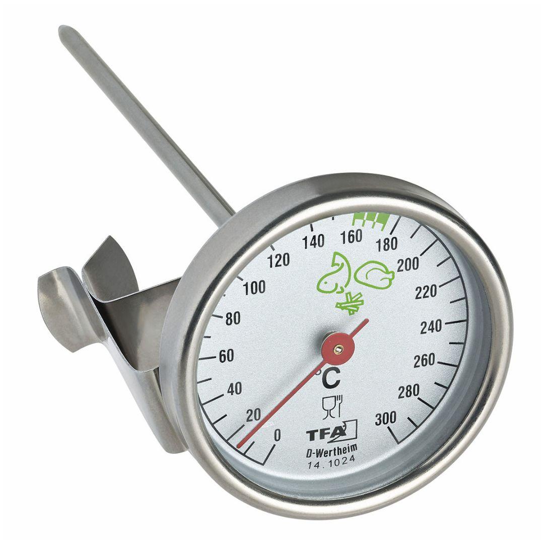 Кухонный термометр для жарки во фритюре TFA (141024)