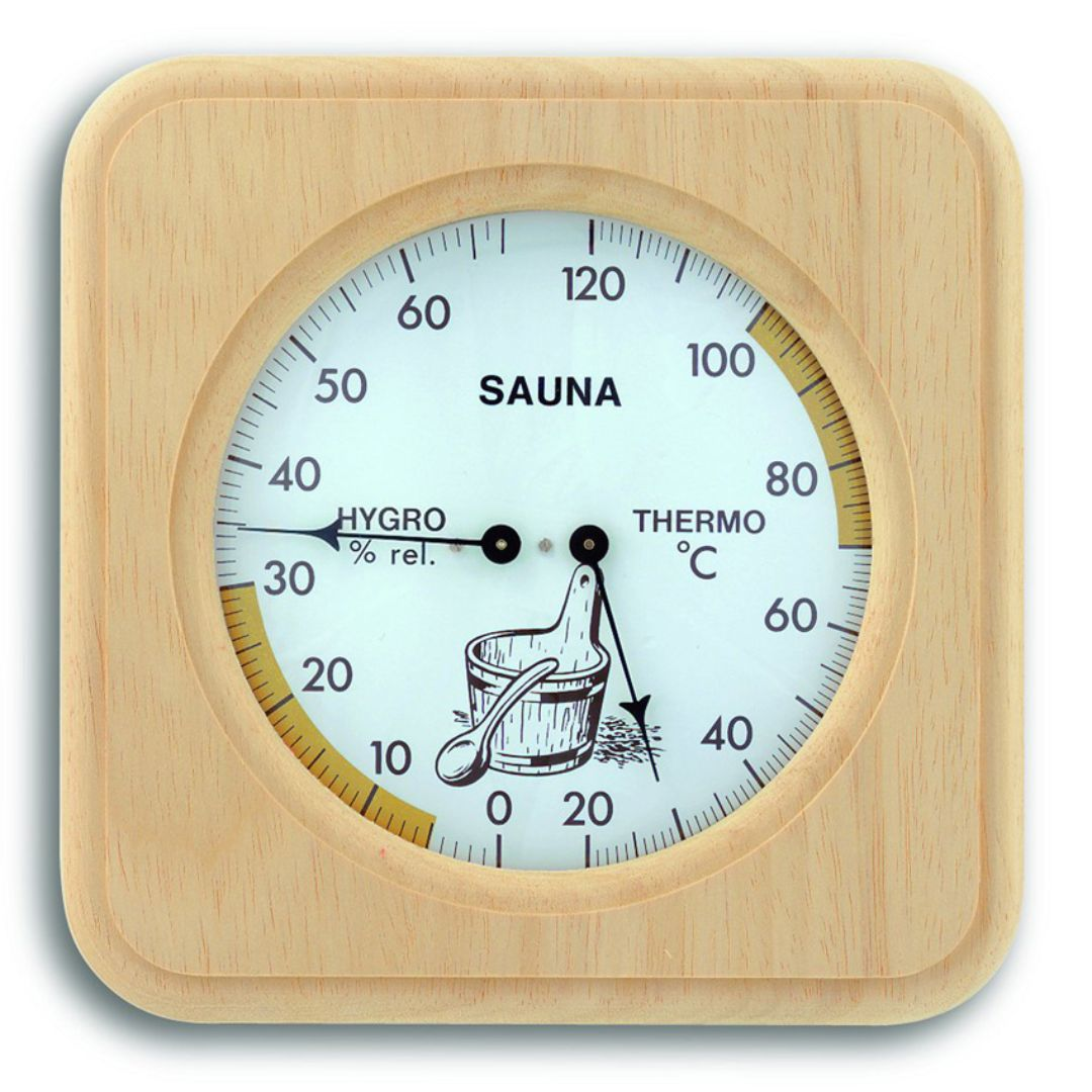 Термогигрометр для сауны TFA (401007)
