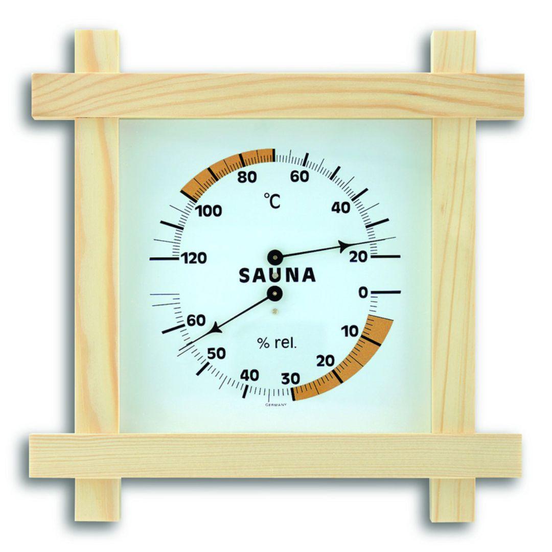 Термогигрометр для сауны TFA (401008)