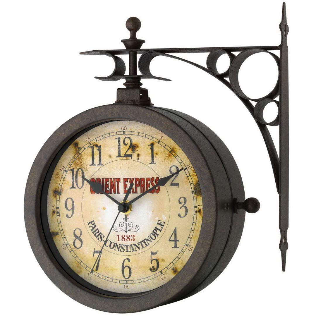 """Настенные часы с термометром TFA """"Nostalgia"""" (603011)"""