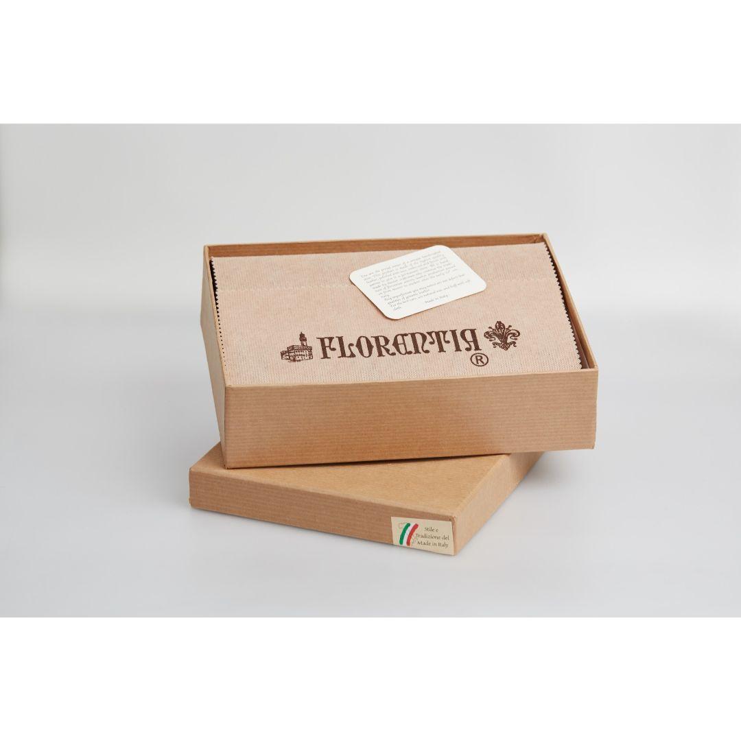 Блокнот Florentia Flowers 18х22 см Коричневый (BLO2901001)