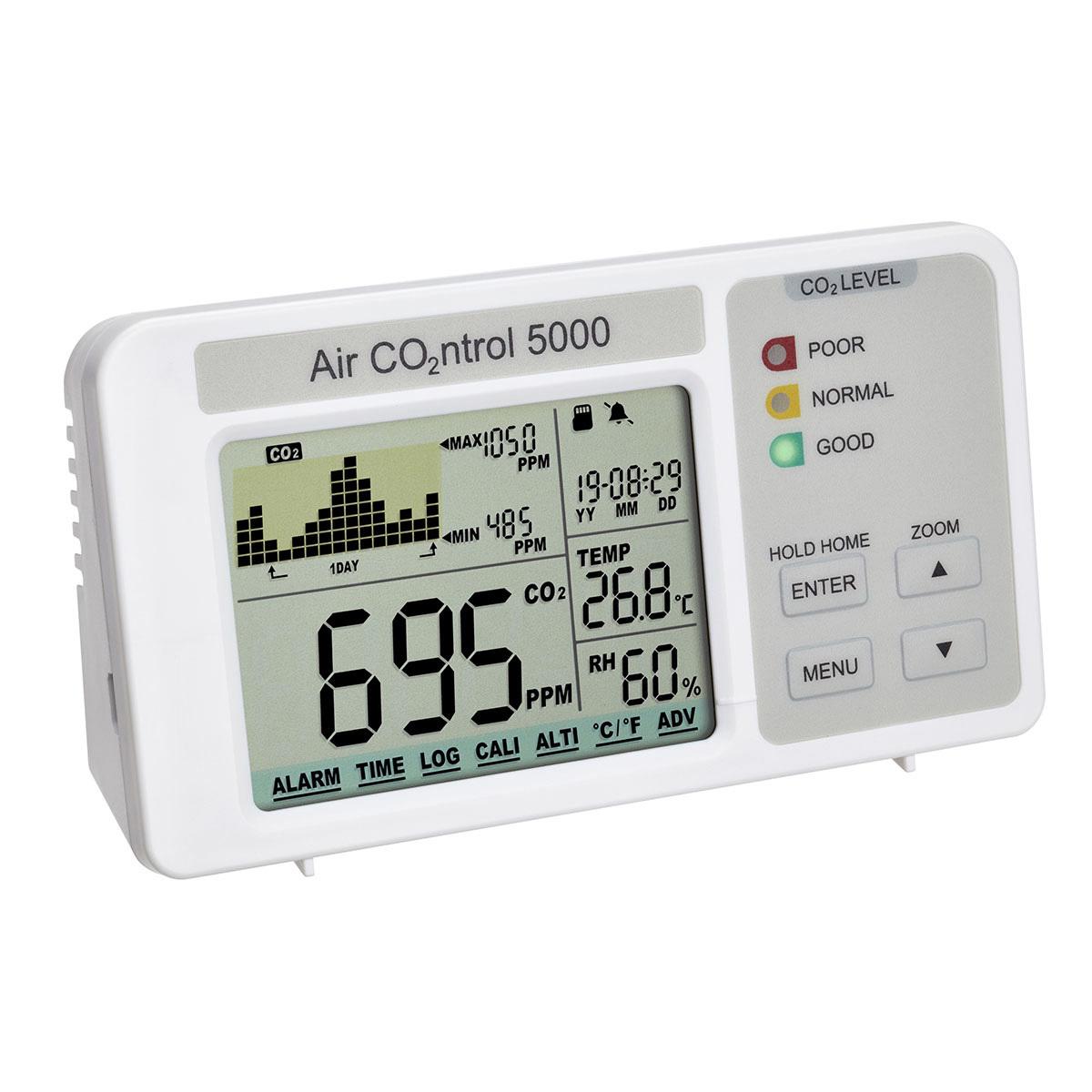 "Анализатор уровня CO2 с регистратором данных TFA ""AIRCO2NTROL 5000"" (31500802)"