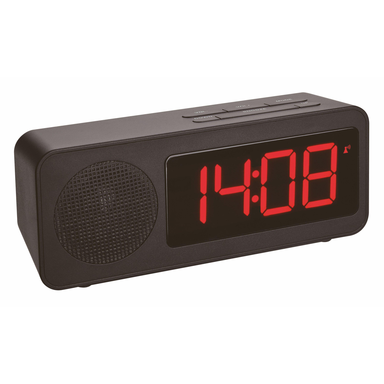 """Настольные часы с FM-радио и USB зарядкой TFA """"TUNE"""" (60254601)"""