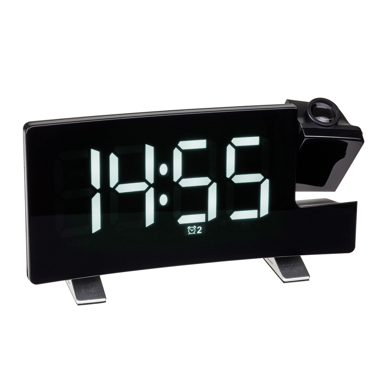 Проекционные часы с FM-радио и USB зарядкой TFA (60501502)