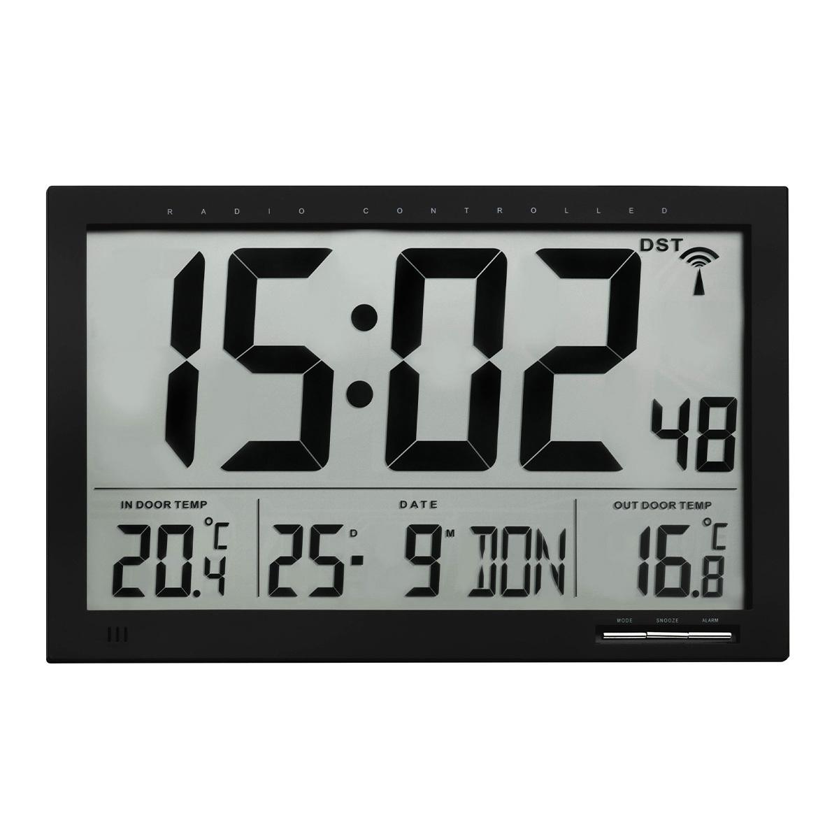 Настенные часы с внутренней/наружной температурой TFA (60451001)