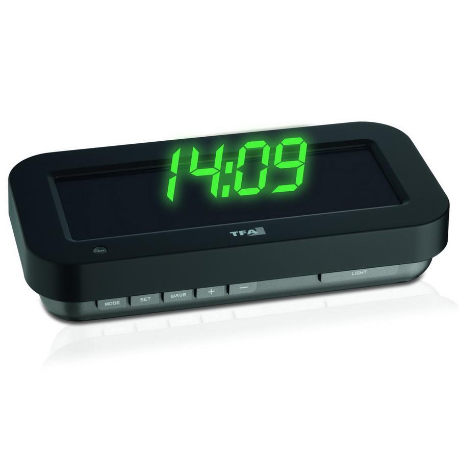 """Проекционные часы TFA """"HOLOclock"""", 3D-эффект (60500904)"""