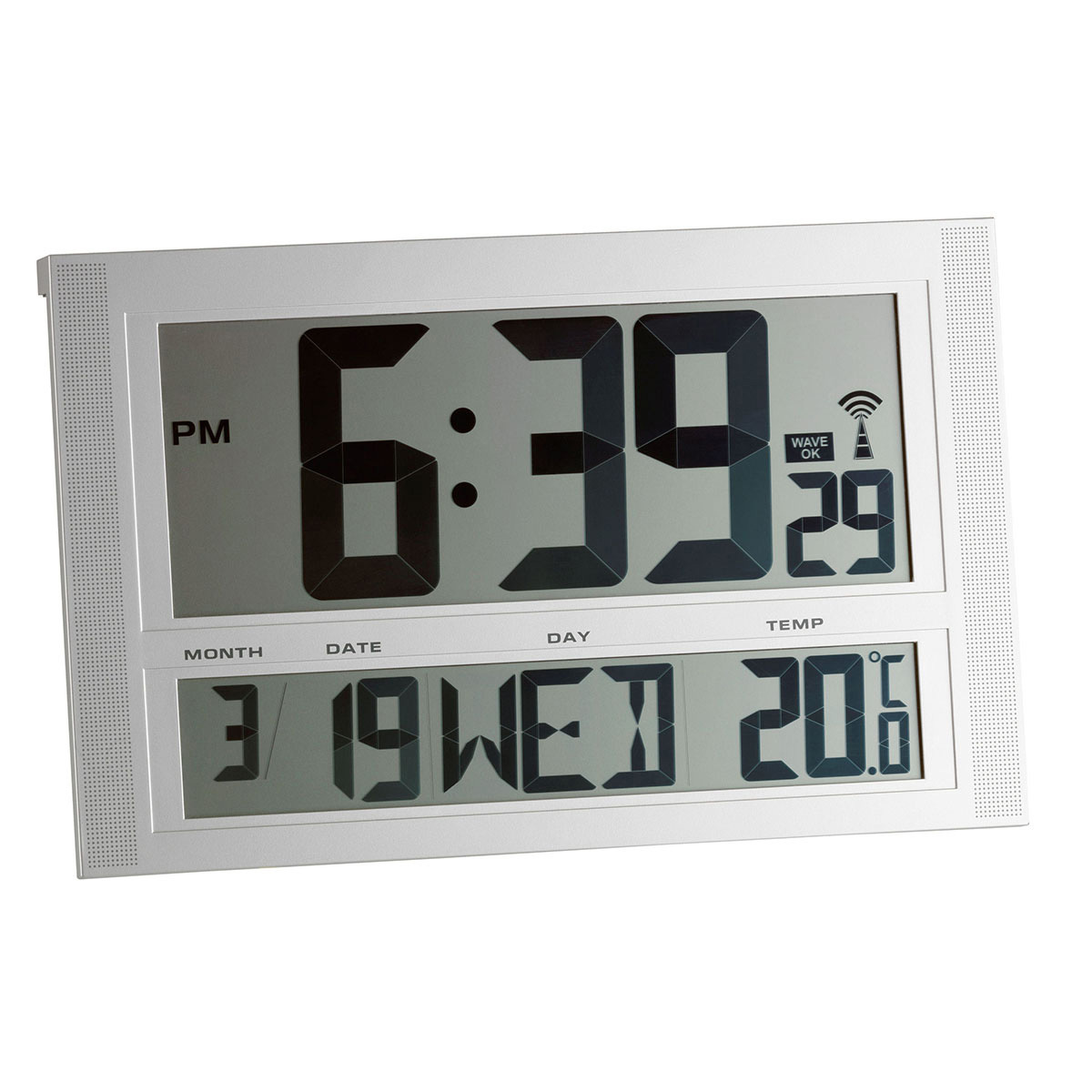 Настенные часы с температурой TFA (981090)