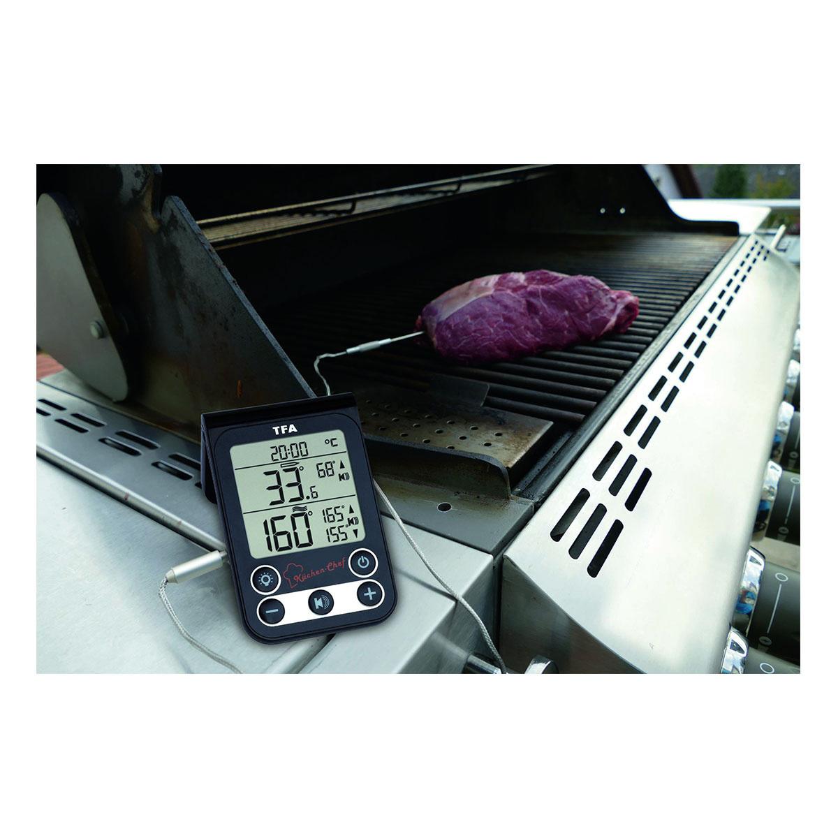 "Кухонный термометр для духовки и гриля TFA ""KÜCHEN-CHEF"" (14151201)"