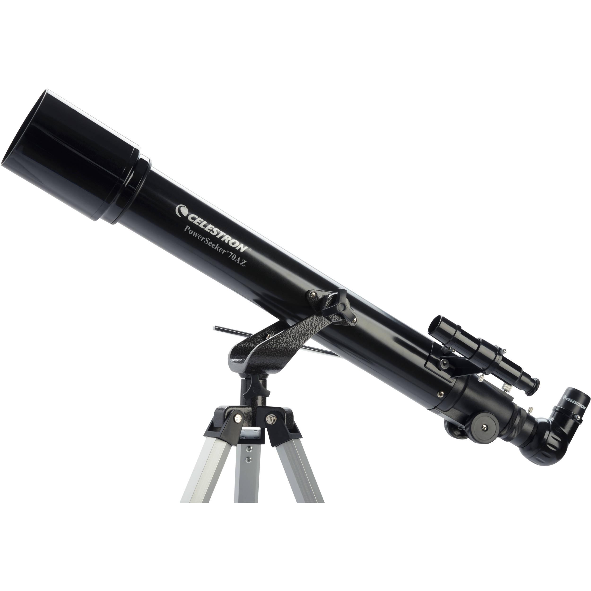 Телескоп Celestron PowerSeeker 70 AZ, рефрактор (21036)