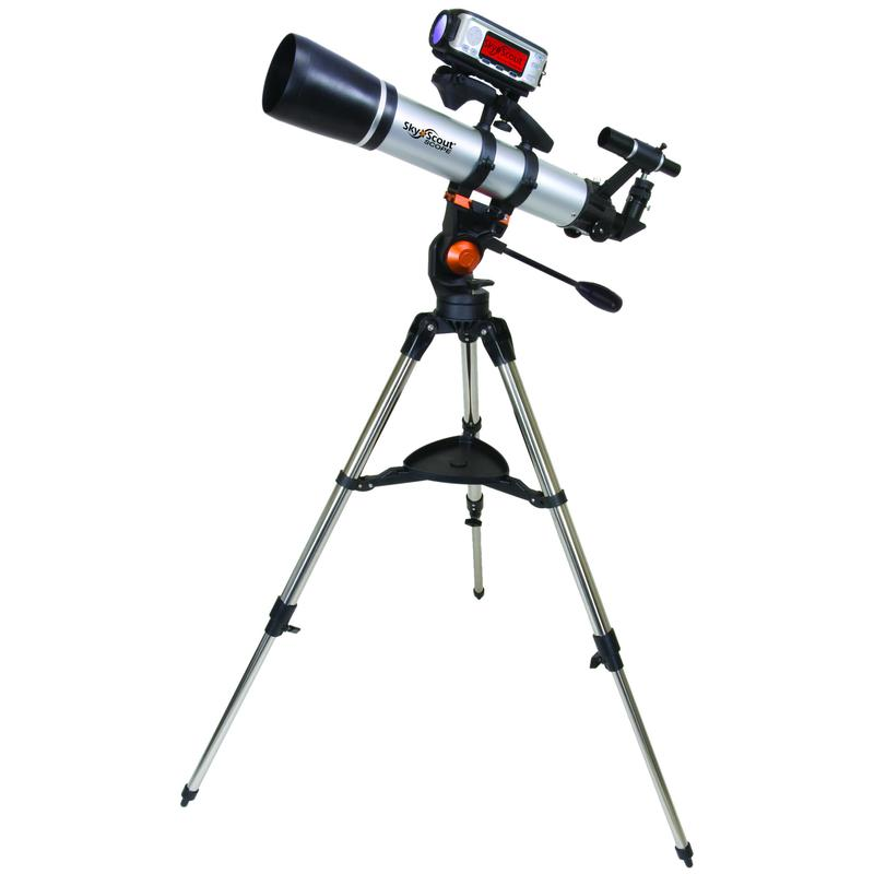 Телескоп Celestron SkyScout Scope 90, рефрактор (21068)