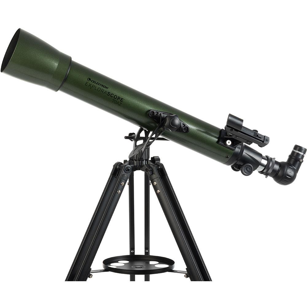 Телескоп Celestron ExploraScope 70 AZ, рефрактор (22101)
