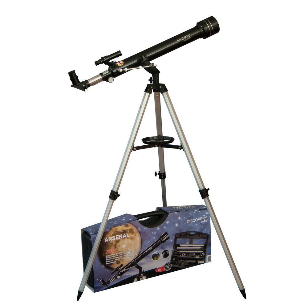 Телескоп Arsenal Discovery 60/700 AZ2, с кейсом (60-700BR)