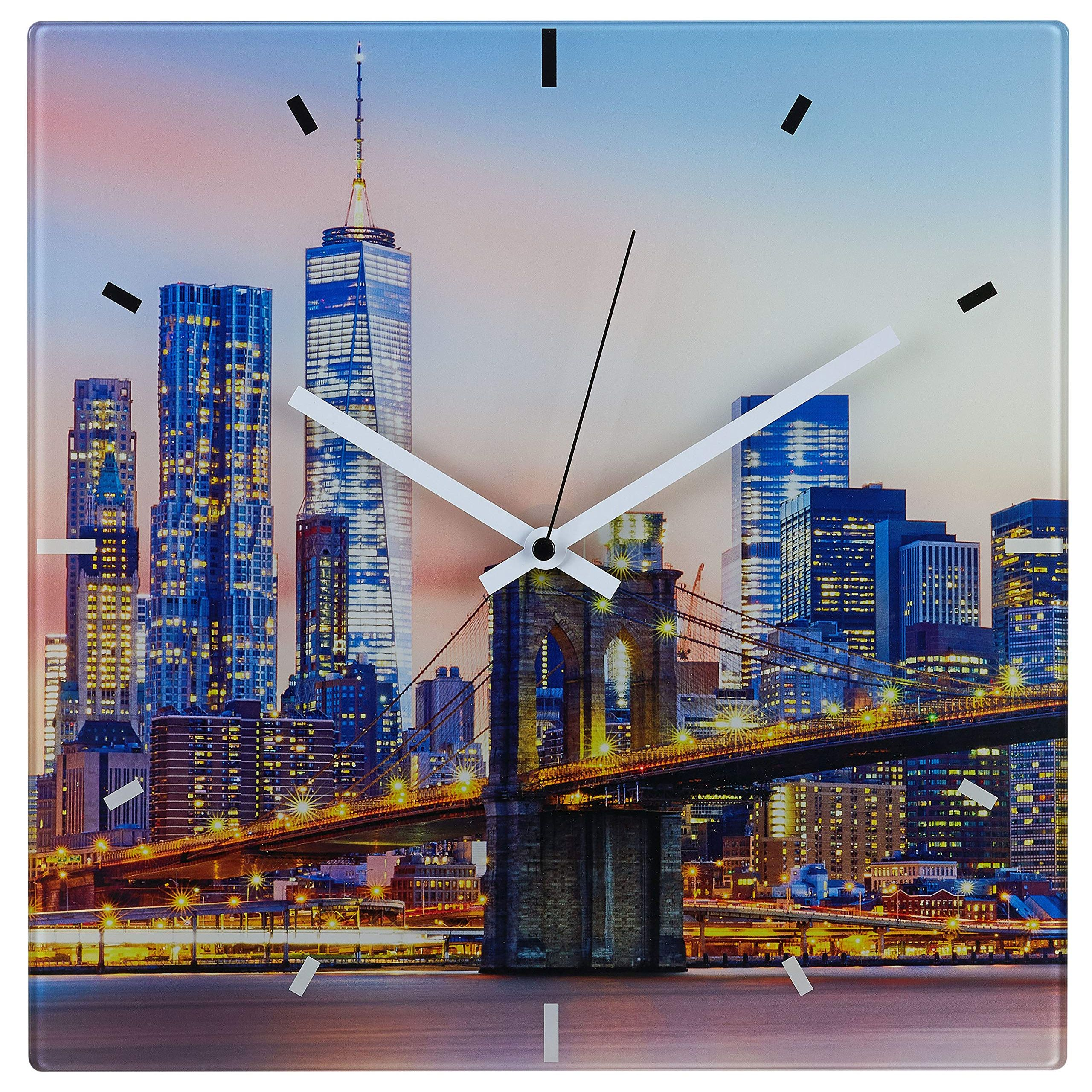 """Настенные часы TFA """"New York"""" (60353190)"""
